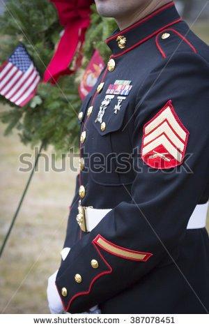 Memorial Wreath For Marine Transparent Clipart Images.