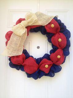United States Marine Corps door wreath.