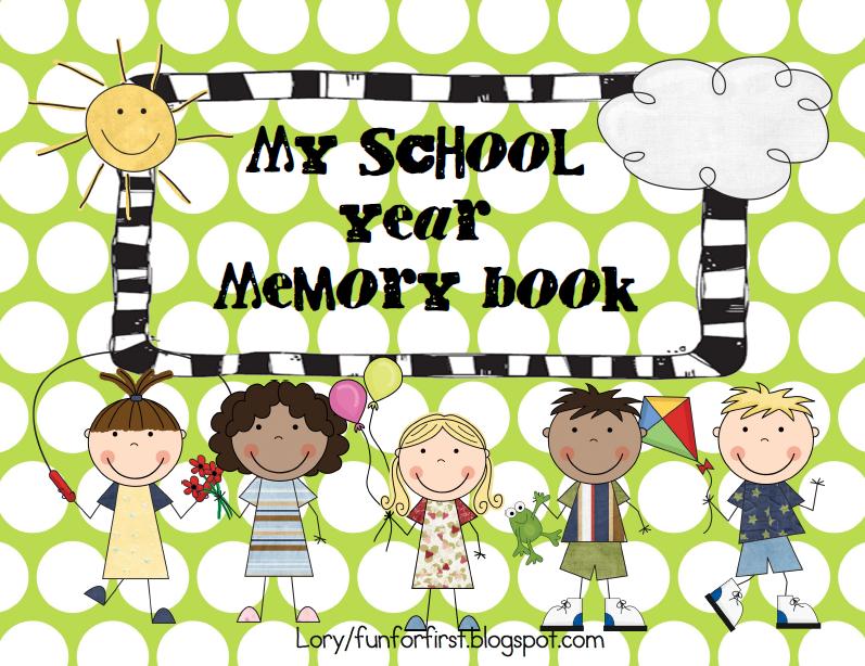 School memories clipart.