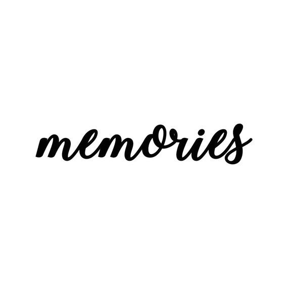 Memories clipart black and white clipart images gallery for.