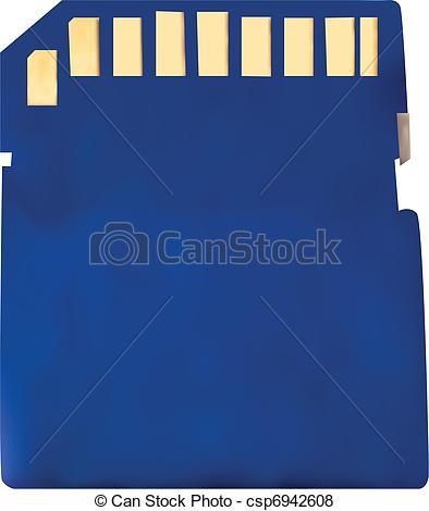 Memory card Illustrations and Clip Art. 12,265 Memory card royalty.