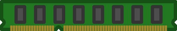 Ram Memory Chip clip art Free Vector / 4Vector.