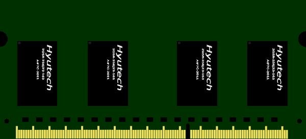 RAM Memory Clip Art.