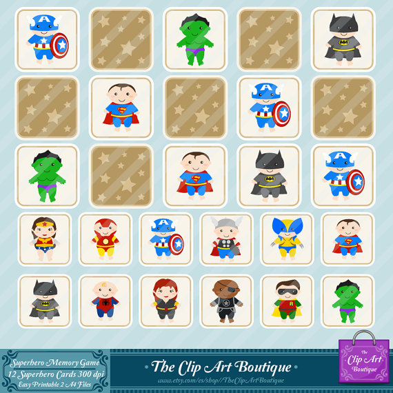memory game clipart #4