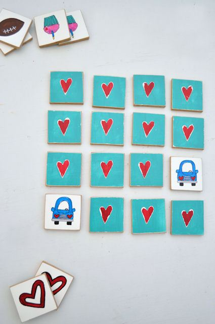 DIY Memory Game For Your Kids' Development.