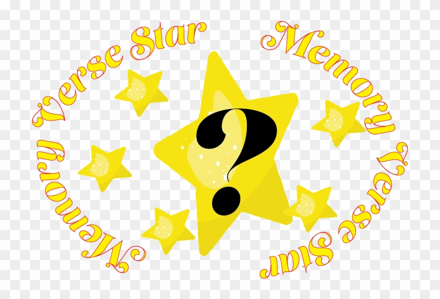 Memory Verse Star Clipart (#3305860).
