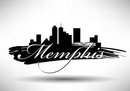 127 Memphis Skyline Cliparts, Stock Vector And Royalty Free.