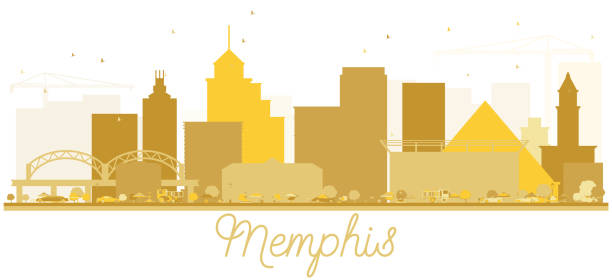 Best Memphis Tennessee Illustrations, Royalty.