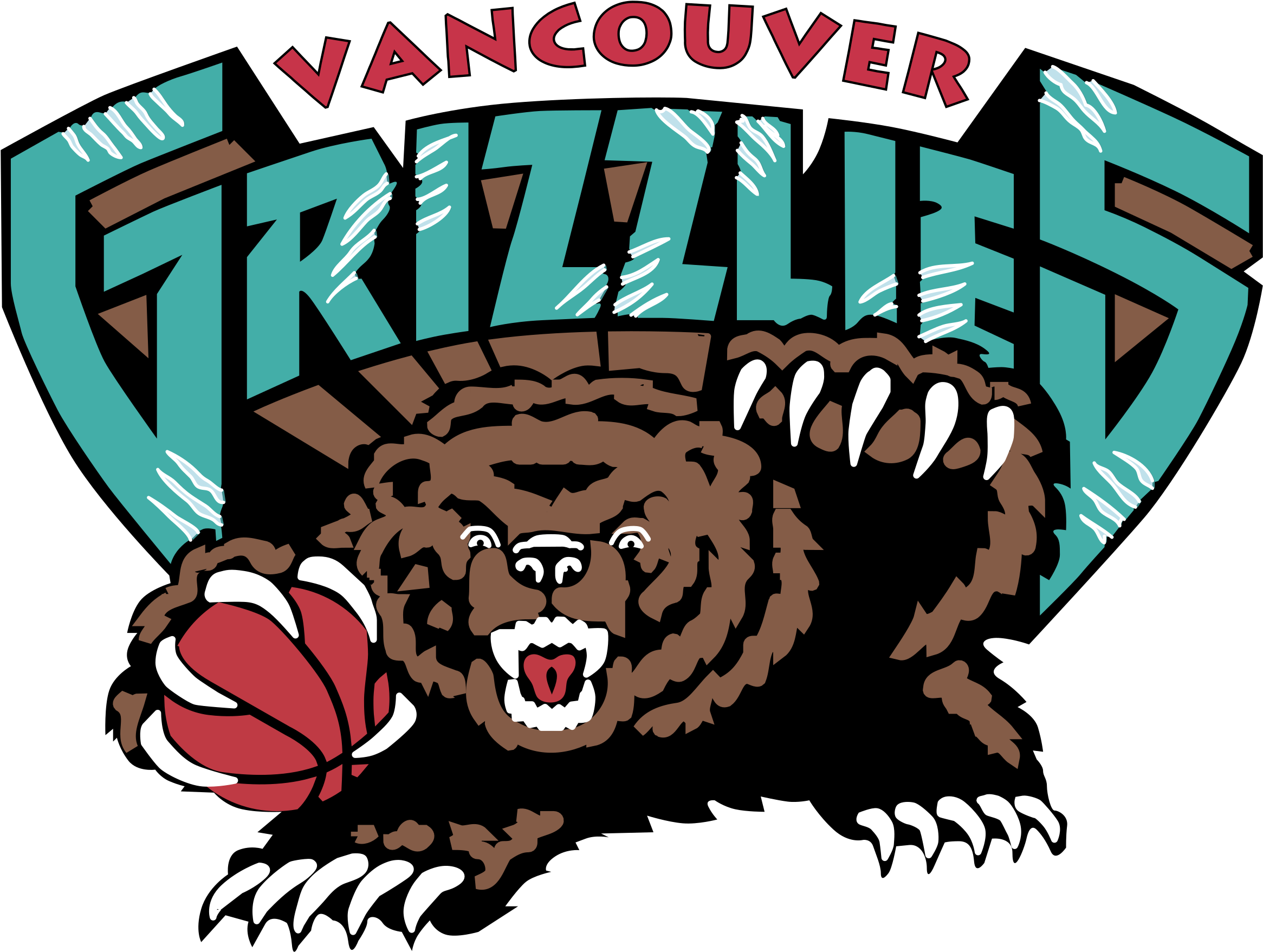 Grizzly Vector Clipart.