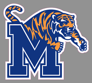 Details about University of Memphis Tigers Logo 6\