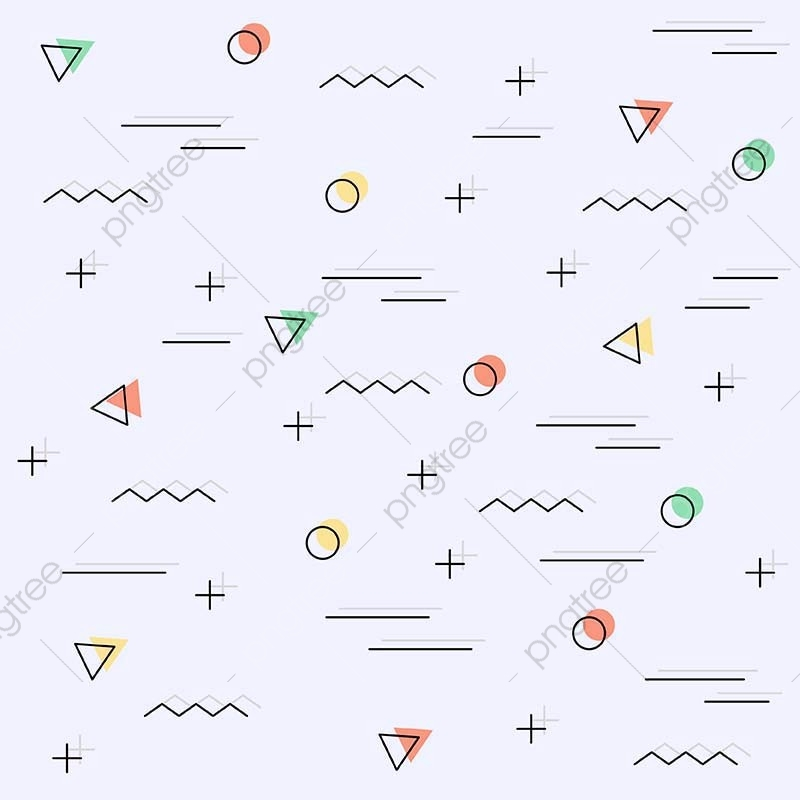 Memphis Pattern Background, Illustration, Style, Hipster PNG.