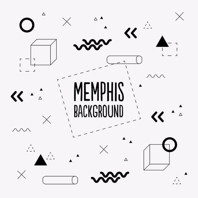 Memphis PNG Images.