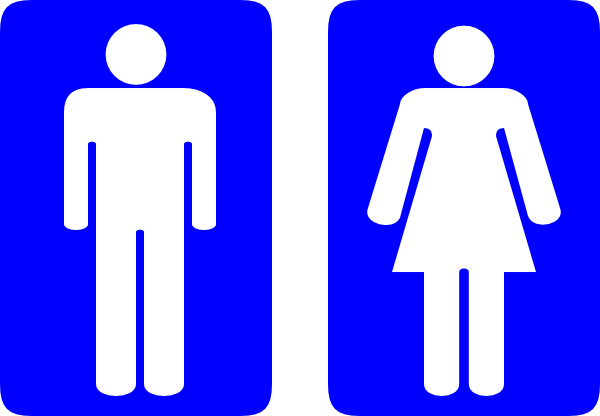 Restroom Man And Woman Clip Art at Clker.com.
