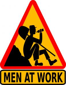 Men At Work Clip Art Download.