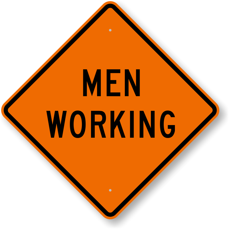 Men At Work Clipart.