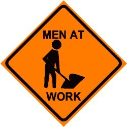 Men Working Clipart.