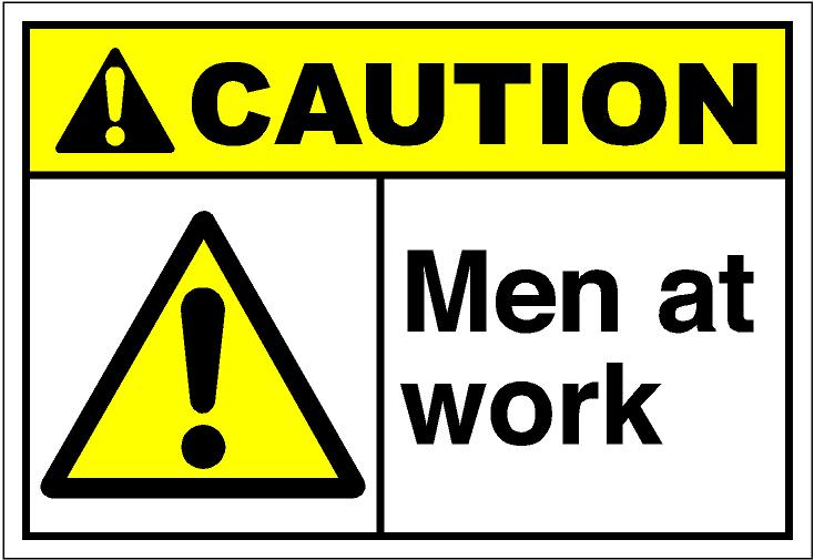 Men at work clipart free.
