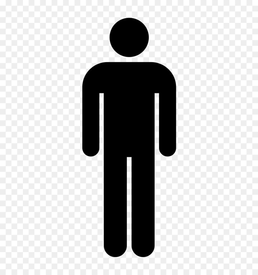 Bathroom Silhouette Man.