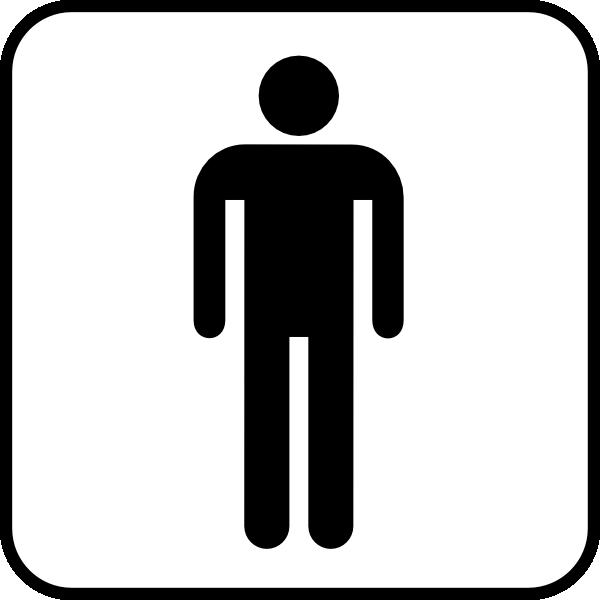 Men S Room Clip Art at Clker.com.