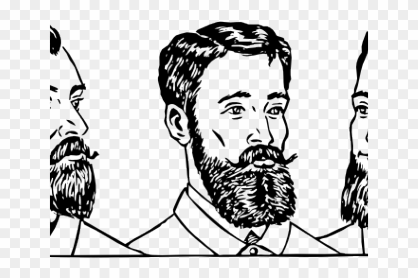 Men Clipart Hairstyle.
