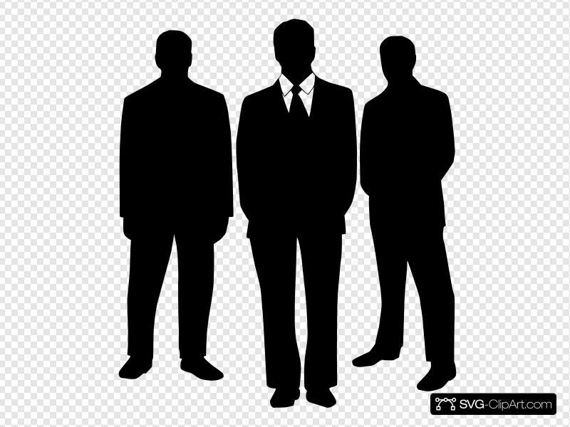 Men In Black Clip art, Icon and SVG.