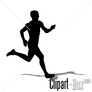100+ Man Running Clipart.