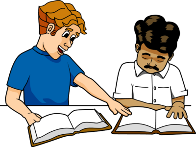 Men\'s Bible Study Clipart.