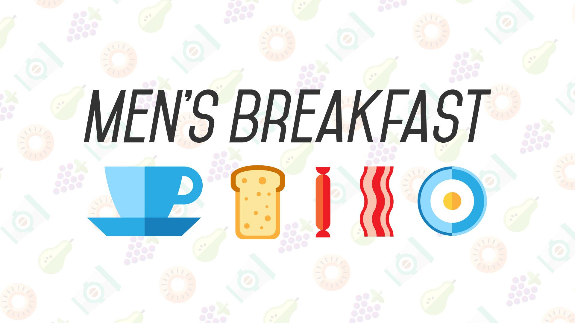 Men\'s Breakfast Clipart.