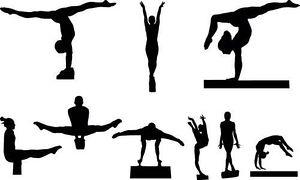 Men gymnastics clipart free images 2 3.