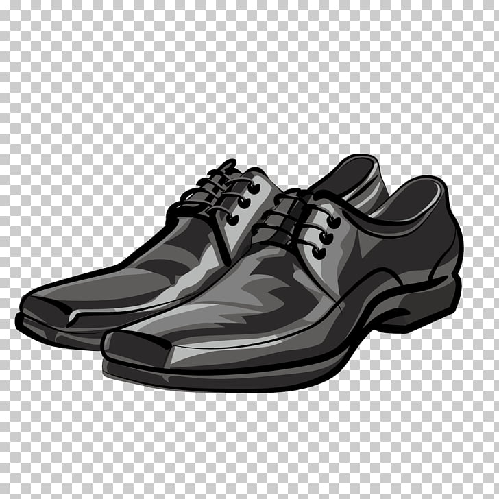 Shoe Stock photography Stock illustration , Cartoon Men\'s.