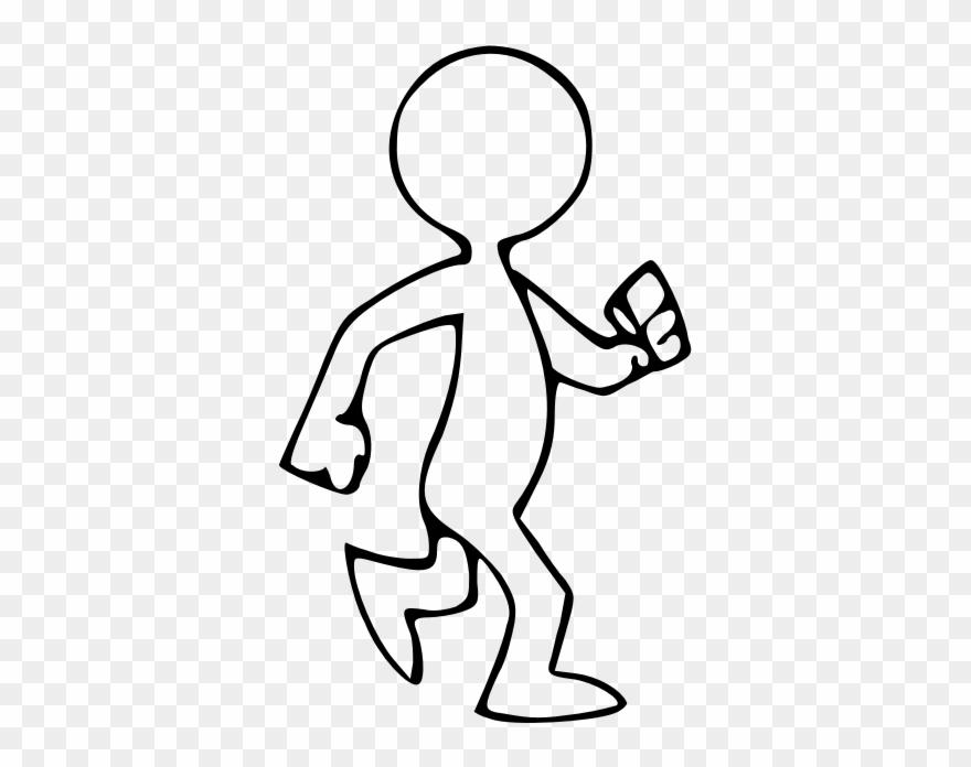 Animated Walking Man.