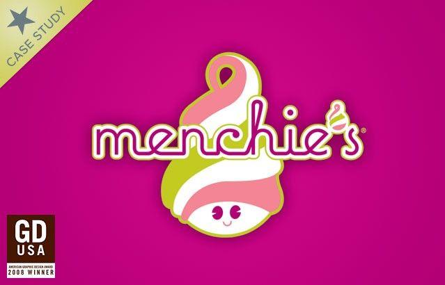 Menchie\'s Frozen Yogurt Franchise Branding Case Study.