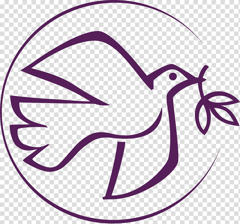 Bird Line Art, Mennonite Church Usa, Lent, Easter.
