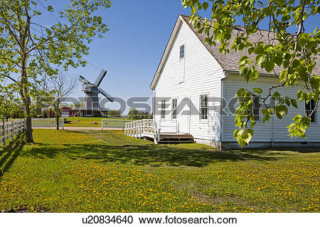 Stock Photography of Mennonite Heritage Village, Steinbach.