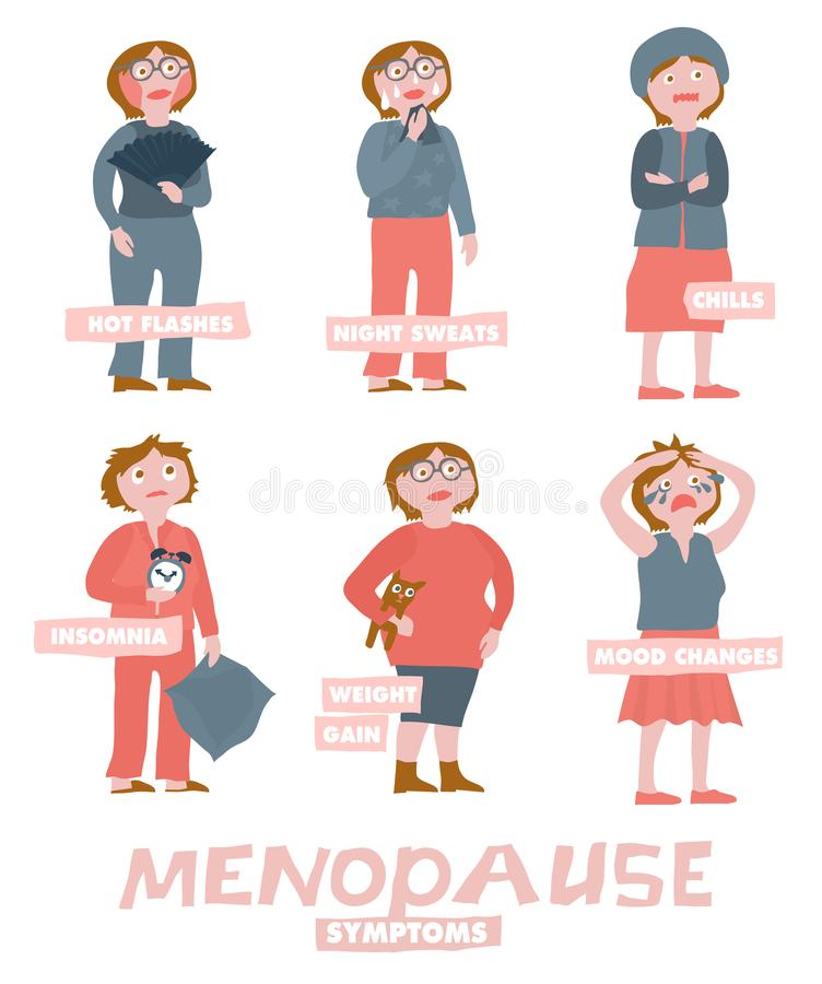 Menopause Stock Illustrations.