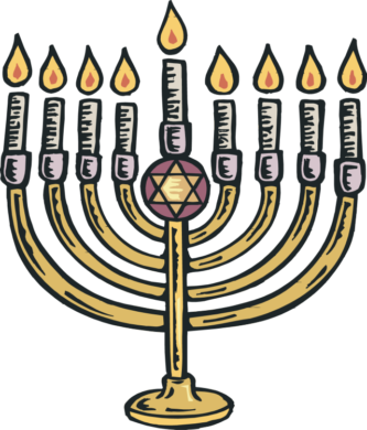Happy Hanukkah Clipart.
