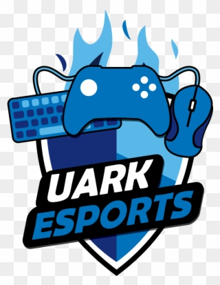 Uark Esports Logo.
