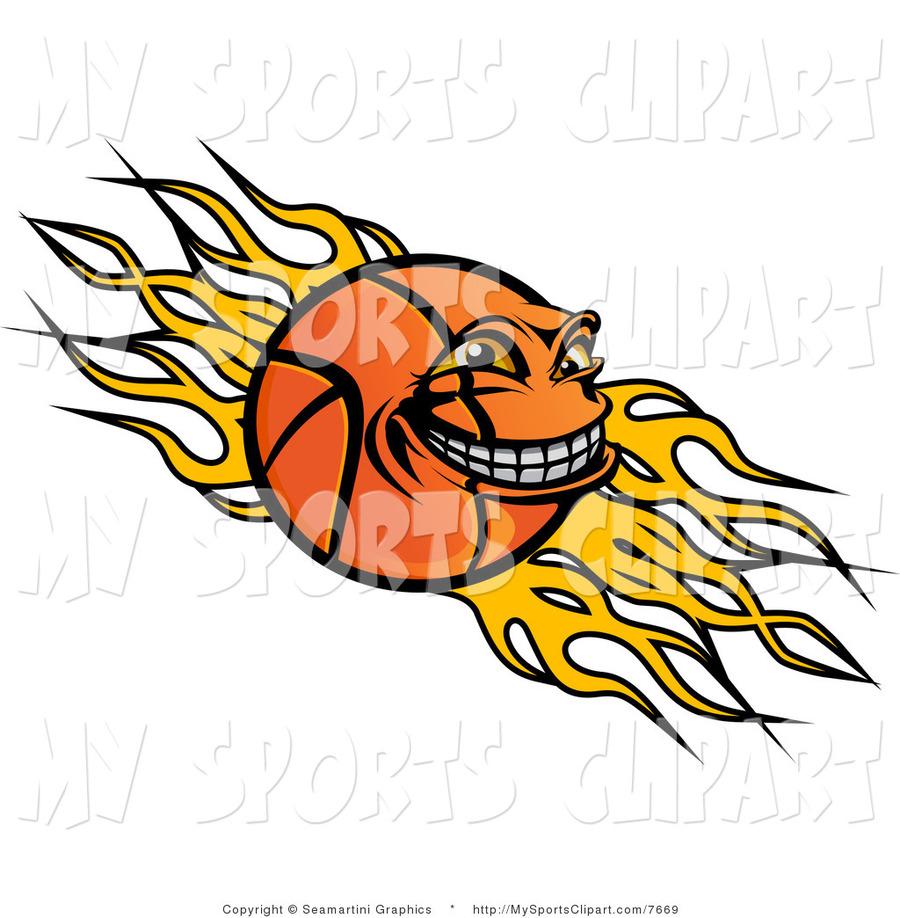 Download logo flames basketball clipart Liberty Flames men\'s.