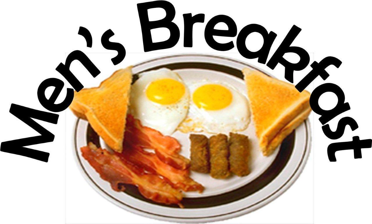 Men's Breakfast Cliparts.
