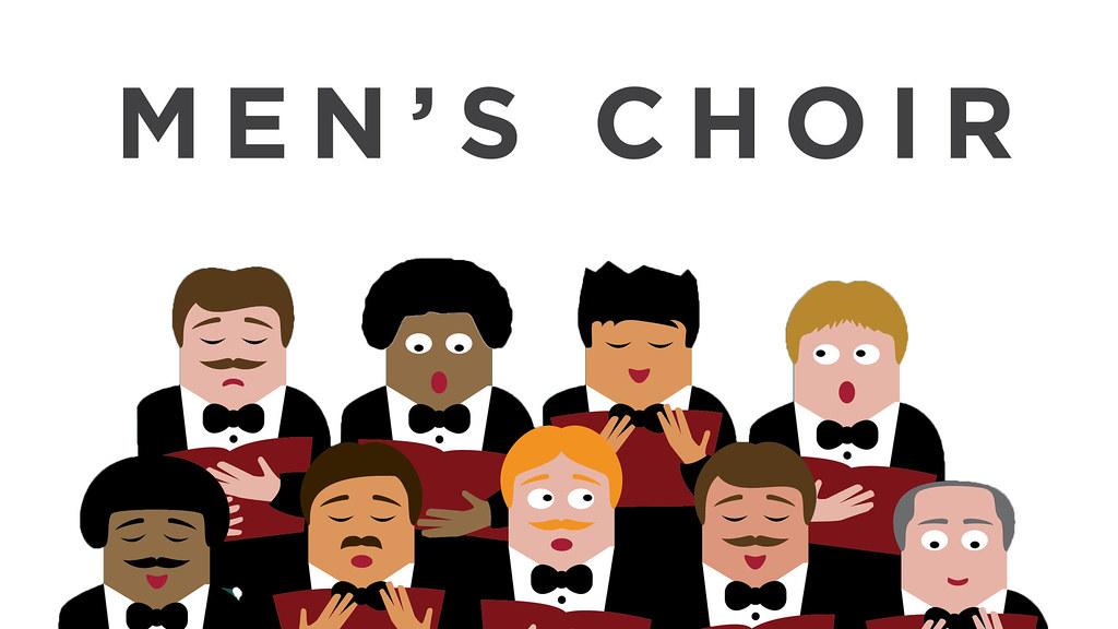 Men's Choir this Sunday.