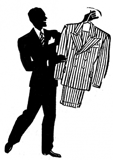 Gay Fashion Men Clipart.