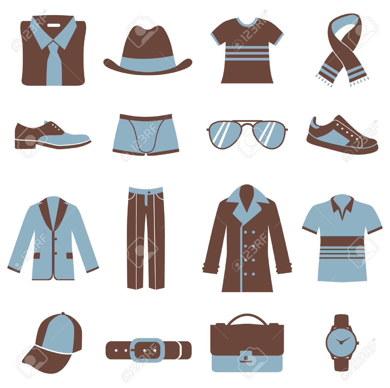 Men's clothing clipart - Clipground