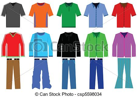 Clothes Illustrations and Clipart. 181,774 Clothes royalty free.