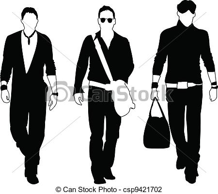 Men clothing design software edraw with office man clothing.