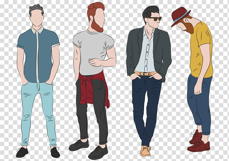 Fashion design Fashion illustration Clothing, men formal.