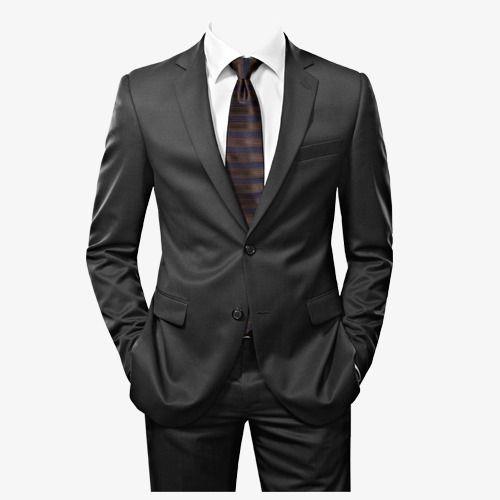 Mens Suits, Suit, Men, Black PNG Transparent Clipart Image.