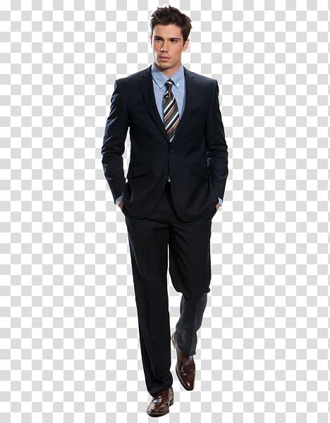 Tuxedo Suit Navy blue Blazer Clothing, mens suit transparent.