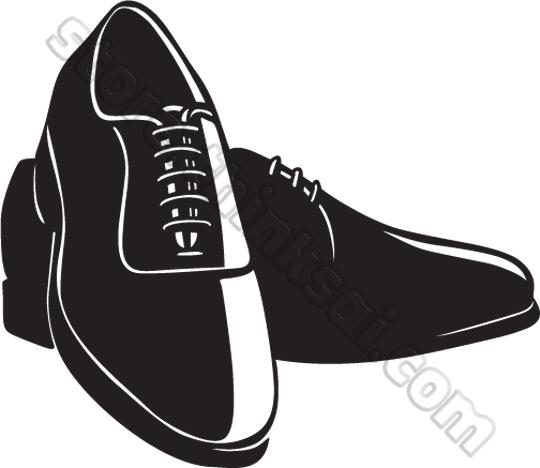 Gents Shoes Clipart.