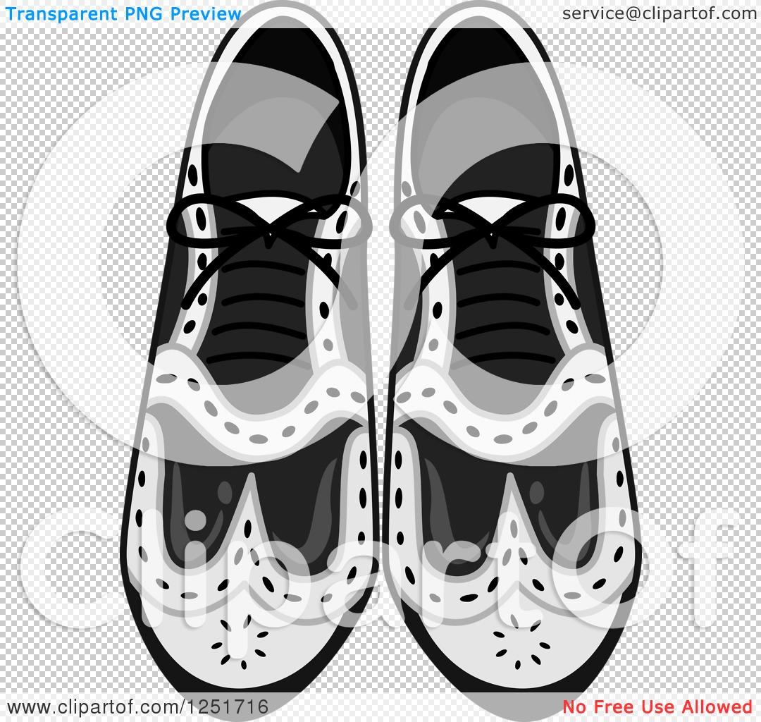 Clipart of Men's Dress Shoes.