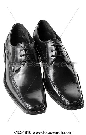 Mens Dress Shoes Clipart Black And White.